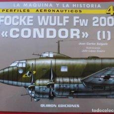 Hobbys: PERFILES AERONAÚTICOS. Nº 4 FOCKE WULF FW-200 CONDOR I. Lote 95700759