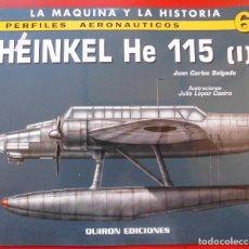 Hobbys: PERFILES AERONAÚTICOS. Nº 6 HEINKEL HE-115 I. Lote 95700943
