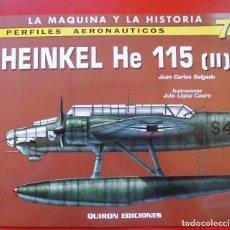 Hobbys: PERFILES AERONAÚTICOS. Nº 7 HEINKEL HE-115 II. Lote 95700999