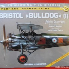Hobbys: PERFILES AERONAÚTICOS. Nº 8 BRISTOL BULLDOG I. Lote 95701127