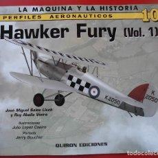 Hobbys: PERFILES AERONAÚTICOS. Nº 10 HAWKER FURY. Lote 95701339