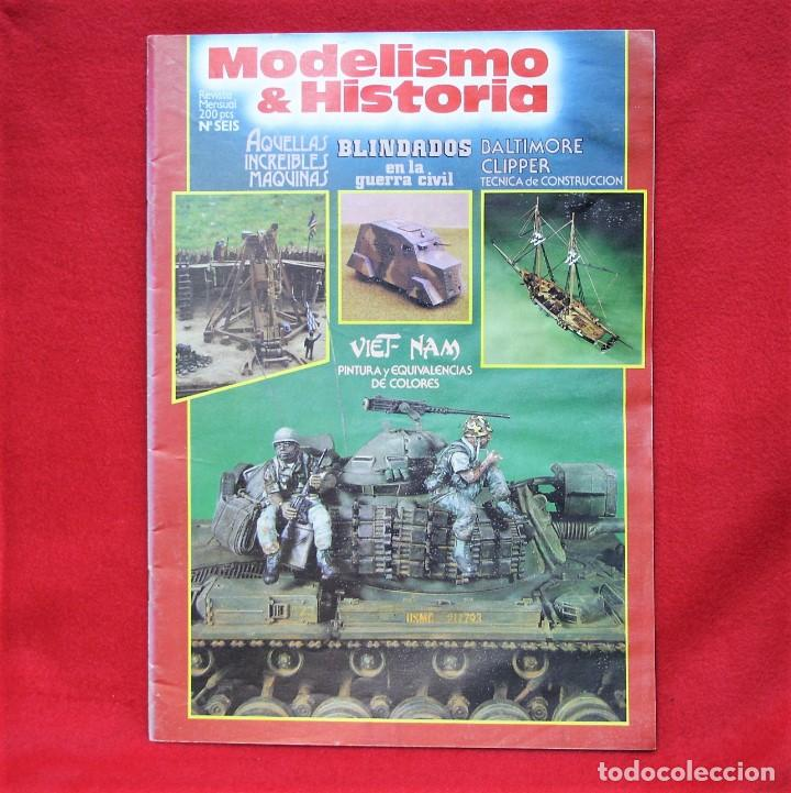 MODELISMO & HISTORIA Nº6 (Juguetes - Modelismo y Radiocontrol - Revistas)
