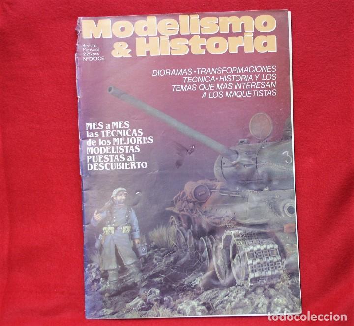 MODELISMO & HISTORIA Nº12 (Juguetes - Modelismo y Radiocontrol - Revistas)
