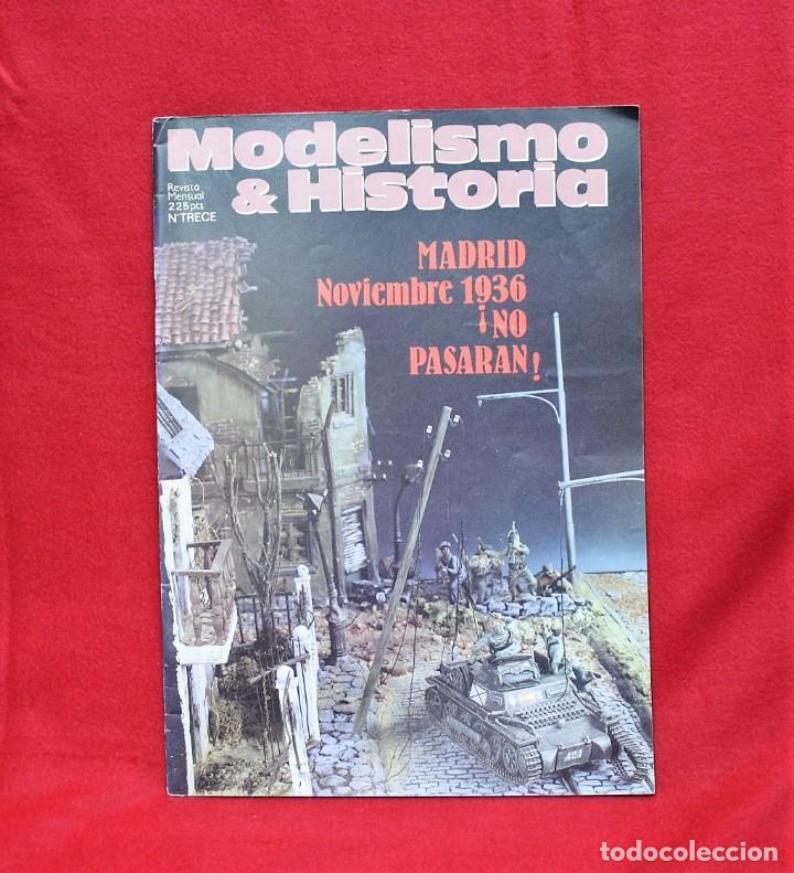 MODELISMO & HISTORIA Nº13 (Juguetes - Modelismo y Radiocontrol - Revistas)