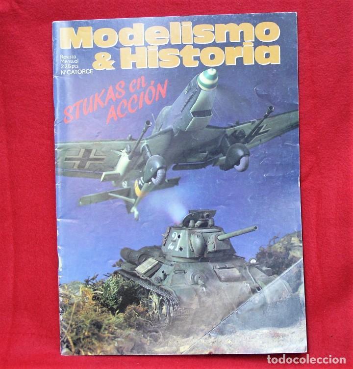 MODELISMO & HISTORIA Nº14 (Juguetes - Modelismo y Radiocontrol - Revistas)