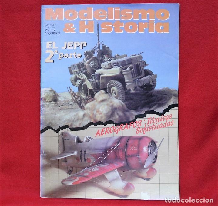 MODELISMO & HISTORIA Nº15 (Juguetes - Modelismo y Radiocontrol - Revistas)