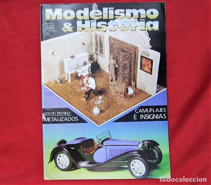 MODELISMO & HISTORIA Nº 29 (Juguetes - Modelismo y Radiocontrol - Revistas)