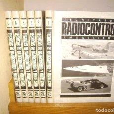Hobbys: TECNICAS DE RADIOCONTROL Y MODELISMO - 6 TOMOS / COMPLETA. Lote 97803347