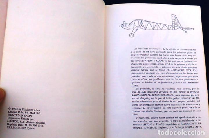 Hobbys: Iniciación al aeromodelismo, Enciclopedia de las aficiones,12. J. Toledo del Valle.Ediciones Altea. - Foto 5 - 100455347