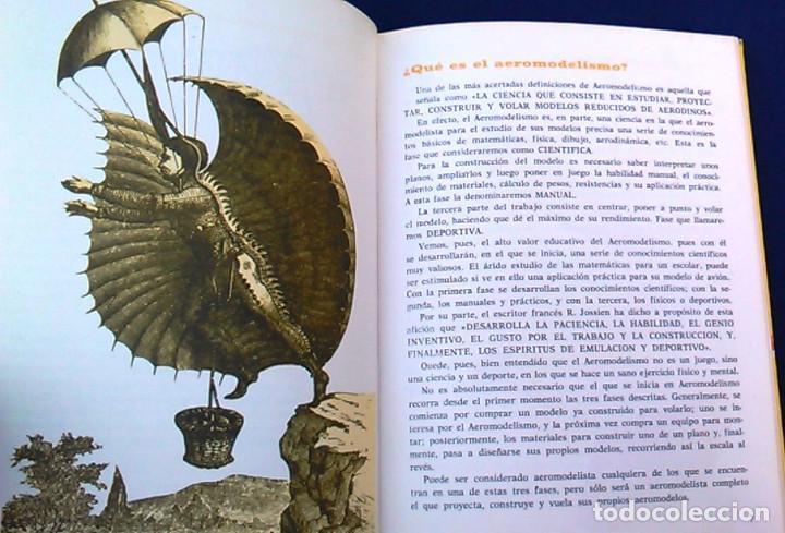 Hobbys: Iniciación al aeromodelismo, Enciclopedia de las aficiones,12. J. Toledo del Valle.Ediciones Altea. - Foto 6 - 100455347