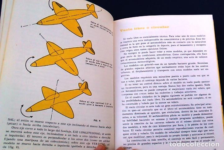 Hobbys: Iniciación al aeromodelismo, Enciclopedia de las aficiones,12. J. Toledo del Valle.Ediciones Altea. - Foto 8 - 100455347
