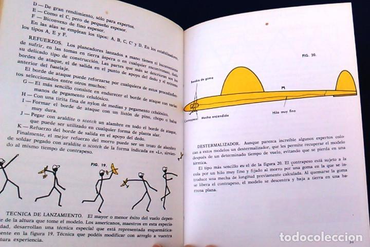 Hobbys: Iniciación al aeromodelismo, Enciclopedia de las aficiones,12. J. Toledo del Valle.Ediciones Altea. - Foto 9 - 100455347
