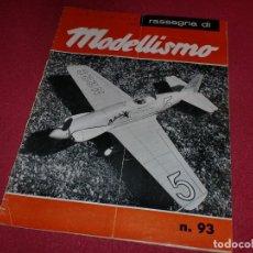 Hobbys: REVISTA MODELLISMO - AÑO 1964 - N.º 93. Lote 100709303