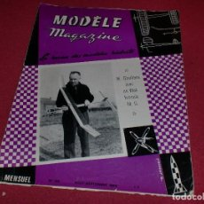 Hobbys: MODÈLE MAGAZINE - SINGULAR REVISTA AÑOS '60 PARA MODELOS REDUCIDOS - N. 188. Lote 100709519