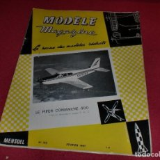 Hobbys: MODÈLE MAGAZINE - SINGULAR REVISTA AÑOS '60 PARA MODELOS REDUCIDOS - N. 193. Lote 100709663