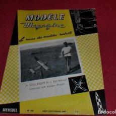 Hobbys: MODÈLE MAGAZINE - SINGULAR REVISTA AÑOS '60 PARA MODELOS REDUCIDOS - N. 199. Lote 100709839
