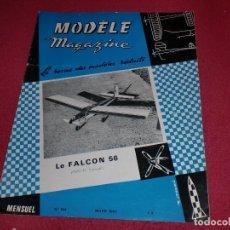 Hobbys: MODÈLE MAGAZINE - SINGULAR REVISTA AÑOS '60 PARA MODELOS REDUCIDOS - N. 194. Lote 100710003