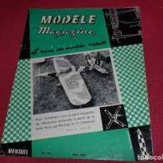 Hobbys: MODÈLE MAGAZINE - SINGULAR REVISTA AÑOS '60 PARA MODELOS REDUCIDOS - N. 196. Lote 100710047