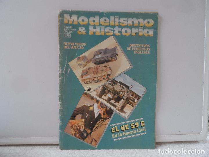 MODELISMO & HISTORIA Nº 39 (Juguetes - Modelismo y Radiocontrol - Revistas)