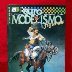 Hobbys: REVISTA EURO MODELISMO FIGURAS, Nº 1, ENERO 2000, DE ACCIÓN PRESS, COMO NUEVO - DIFÍCIL. Lote 102646727