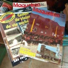 Hobbys: MAQUETREN. LOTE DE 29 REVISTAS. TRENES. Lote 102966095