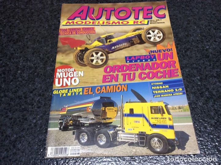 AUTOTEC MODELISMO RC Nº 8 - AUTO RADIO CONTROL (Juguetes - Modelismo y Radiocontrol - Revistas)