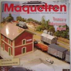 Hobbys: MAQUETREN Nº 285. Lote 104939459
