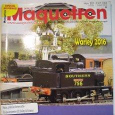 Hobbys: MAQUETREN Nº 287. Lote 104939923