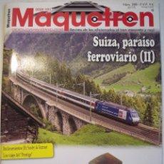 Hobbys: MAQUETREN Nº 288. Lote 104940103