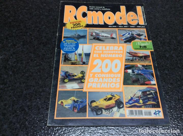 RC MODEL Nº 200 - ESPECIAL 200 PAGINAS , REVISTA DE MODELISMO - EDITADA - 1997 (Juguetes - Modelismo y Radiocontrol - Revistas)