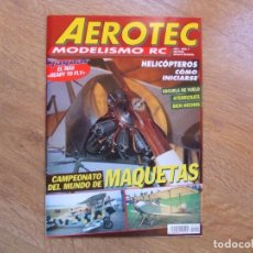 Hobbys: REVISTA AEROTEC AEROMODELISMO CON PLANOS RC Nº 4 AÑO 1994. Lote 106625007
