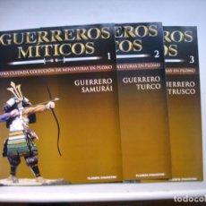 Hobbys: LOTE DE FASCICULOS DE FIGURAS Y SOLDADOS. Lote 107961871