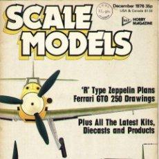 SCALE MODELS AÑO 1976 DICIEMBRE