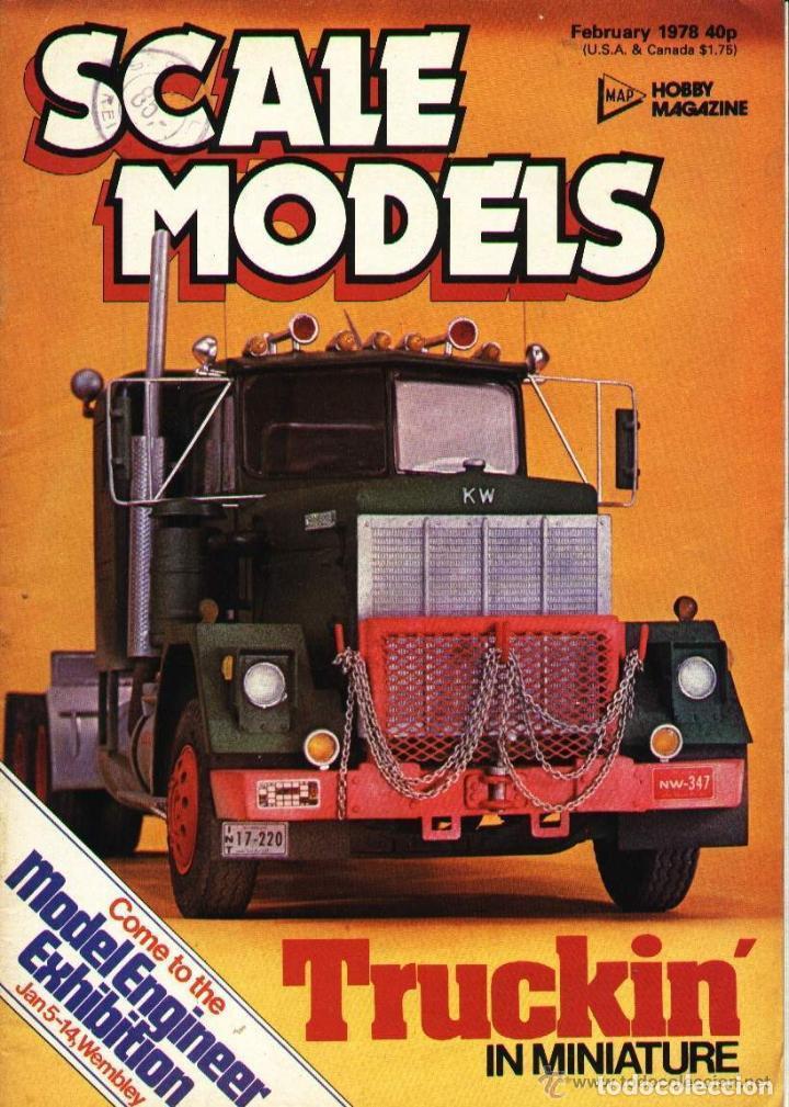 SCALE MODELS AÑO 1978 FEBRERO (Modelismo y Radiocontrol - Revistas)