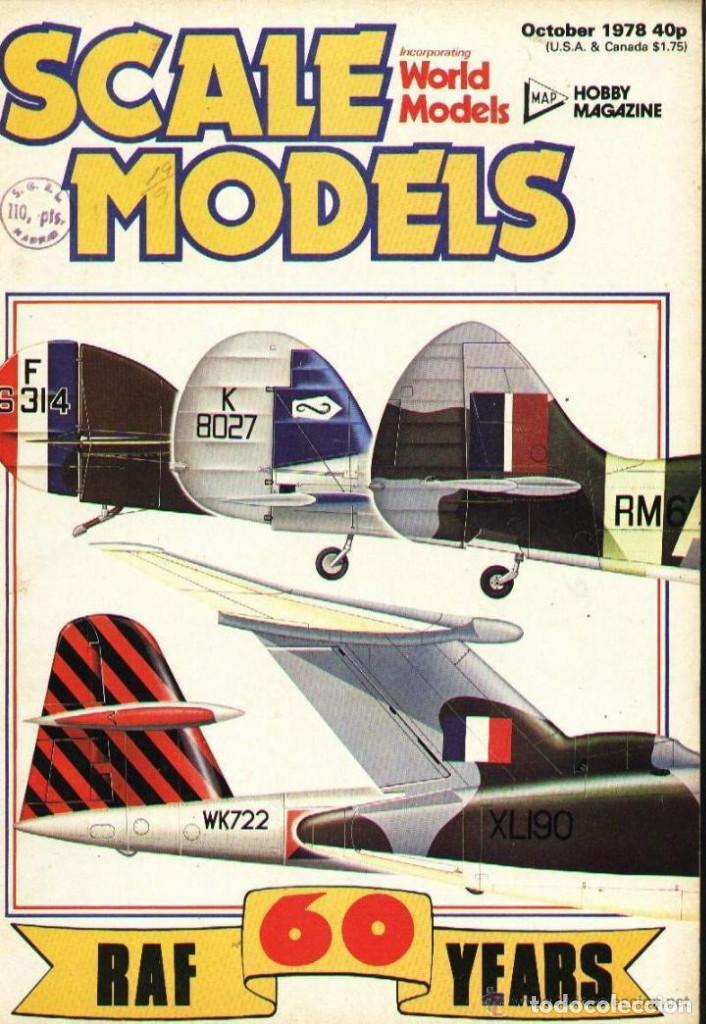 SCALE MODELS AÑO 1978 OCTUBRE (Modelismo y Radiocontrol - Revistas)
