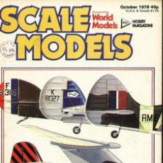 Hobbys: SCALE MODELS AÑO 1978 OCTUBRE. Lote 109329751
