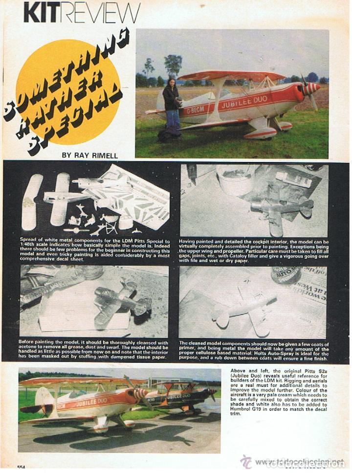 Hobbys: SCALE MODELS AÑO 1978 NOVIEMBRE - Foto 3 - 109330651