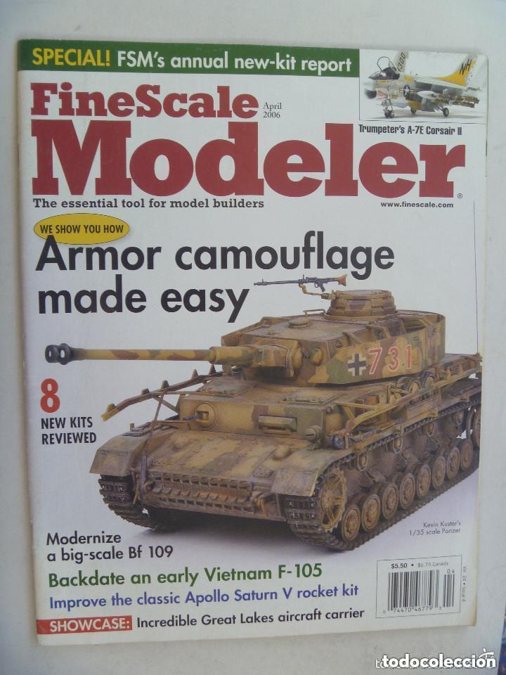 REVISTA FINE SCALE MODELER Nº 4 ... EN INGLES. (Modelismo y Radiocontrol - Revistas)