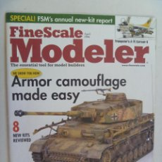 Hobbys: REVISTA FINE SCALE MODELER Nº 4 ... EN INGLES.. Lote 109377923