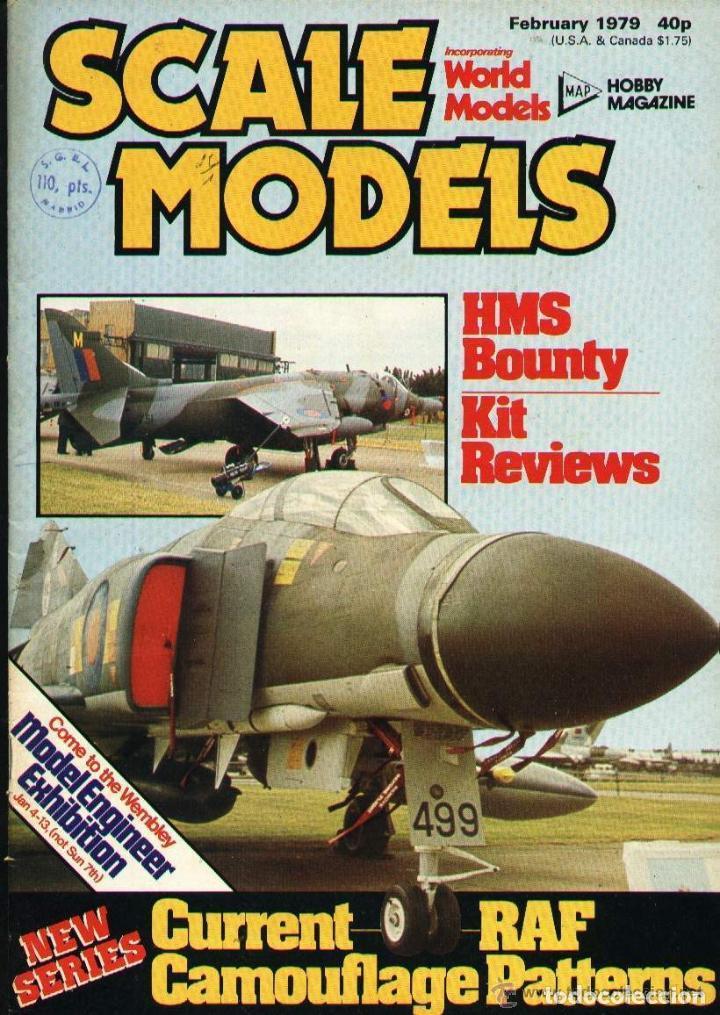 SCALE MODELS AÑO 1979 FEBRERO (Modelismo y Radiocontrol - Revistas)