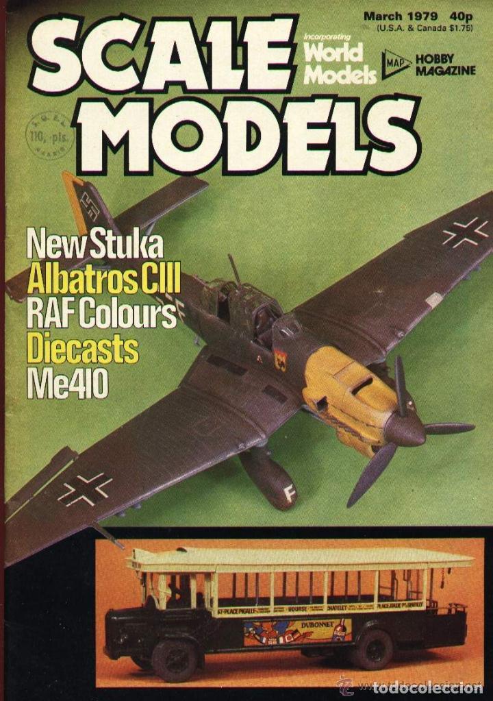 SCALE MODELS AÑO 1979 MARZO (Modelismo y Radiocontrol - Revistas)