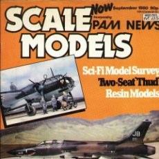 Hobbys: SCALE MODELS AÑO 1980 SEPTIEMBRE. Lote 109432463