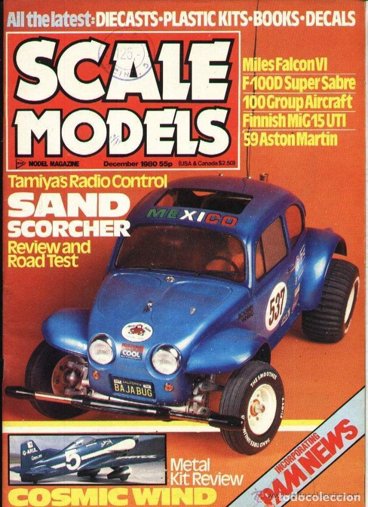 SCALE MODELS AÑO 1980 DICIEMBRE (Modelismo y Radiocontrol - Revistas)