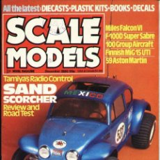 Hobbys: SCALE MODELS AÑO 1980 DICIEMBRE. Lote 109436551