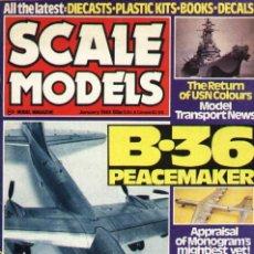 Hobbys: SCALE MODELS AÑO 1981 ENERO. Lote 109437547