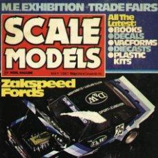Hobbys: SCALE MODELS AÑO 1981 MAYO. Lote 109448923