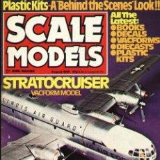 Hobbys: SCALE MODELS AÑO 1981 AGOSTO. Lote 109451995