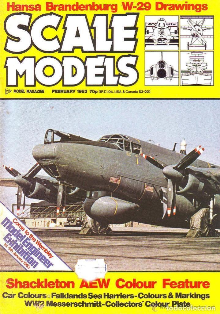 SCALE MODELS AÑO 1983 FEBRERO (Modelismo y Radiocontrol - Revistas)