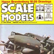 Hobbys: SCALE MODELS AÑO 1983 FEBRERO. Lote 109453751