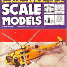 Hobbys: SCALE MODELS AÑO 1983 MARZO. Lote 109453983